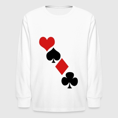 Deck of cards - Kids' Long Sleeve T-Shirt