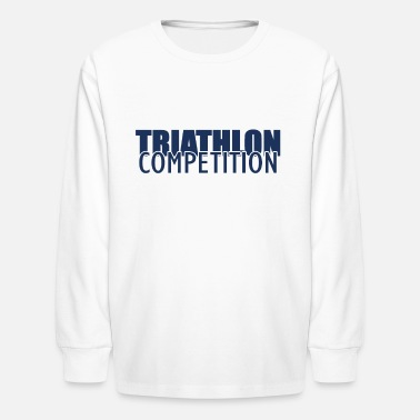 Triathlon Athlete Triathlon Sports Triathlons Triathloner - Kids' Longsleeve Shirt