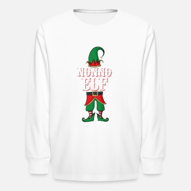 Nonno Elf - Italian Grandpa Family Christmas - Kids' Longsleeve Shirt