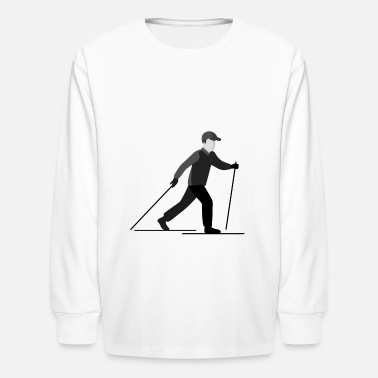 After Ski Ski - Kids' Longsleeve Shirt