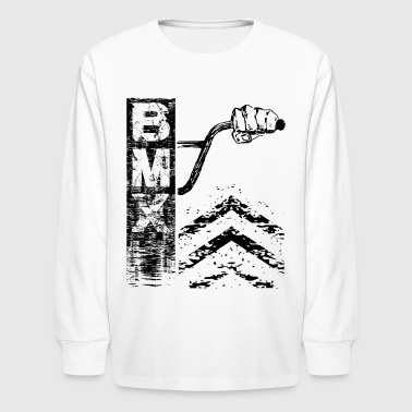 Behind Bmx Bars - Kids' Long Sleeve T-Shirt