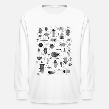Insect Beetles, Bugs and Insects - Kids' Longsleeve Shirt
