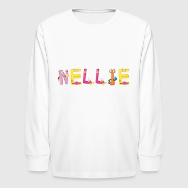 Nellie - Kids' Long Sleeve T-Shirt