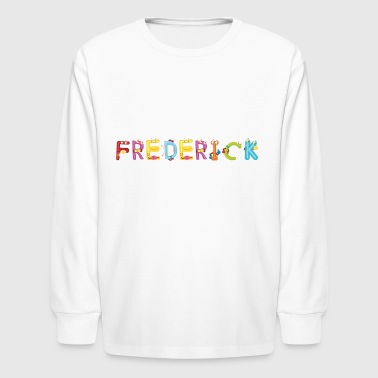 Frederick - Kids' Long Sleeve T-Shirt