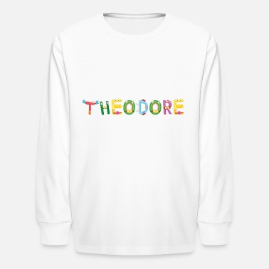 Theodor Theodore - Kids' Long Sleeve T-Shirt