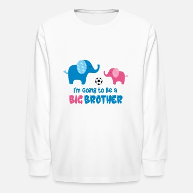 Brother Big Brother Soccer - Kids' Longsleeve Shirt