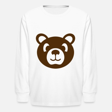 Stuffed Animal bear wild animal stuffed animal - Kids' Longsleeve Shirt