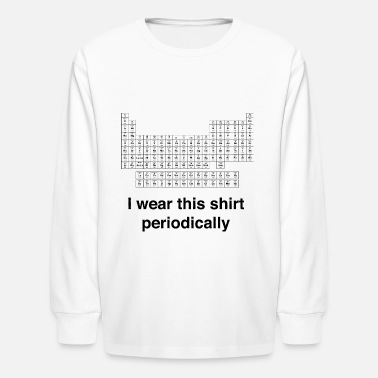 Wear Periodic Wear - Kids' Longsleeve Shirt