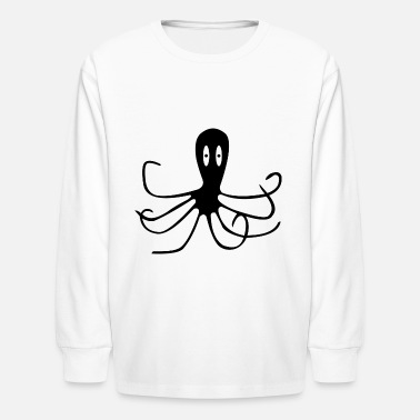 Squid squid squid - Kids' Longsleeve Shirt