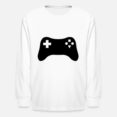 Gaming Console - Kids' Longsleeve Shirt
