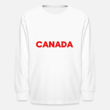 National Colours Canada - Montreal - National Colours - Vancouver - Kids' Longsleeve Shirt