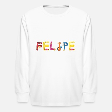 Felipe Birth Felipe - Kids' Longsleeve Shirt