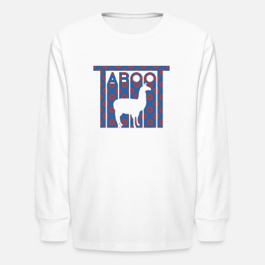 Phish Llama Taboot Fishman Donuts Shirt Design - Kids' Longsleeve Shirt