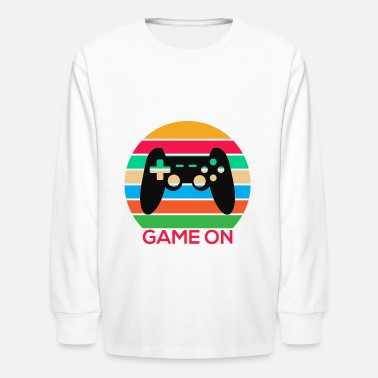 GAME ON GAMER - Kids' Longsleeve Shirt