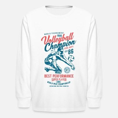 Sports Volleyball - Kids' Longsleeve Shirt