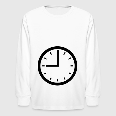 2541614 15476179 clock - Kids' Long Sleeve T-Shirt