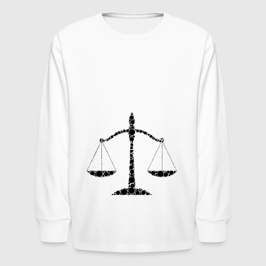 rechtsanwalt anwalt lawyer judge richter law justi - Kids' Long Sleeve T-Shirt