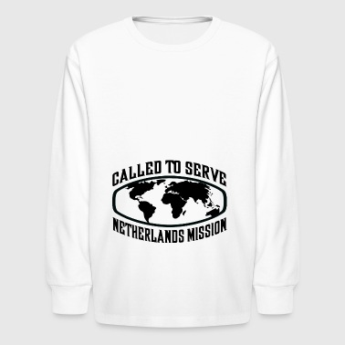 Netherlands Mission - LDS Mission CTSW - Kids' Long Sleeve T-Shirt