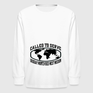Uruguay Montevideo West Mission - LDS Mission CTSW - Kids' Long Sleeve T-Shirt