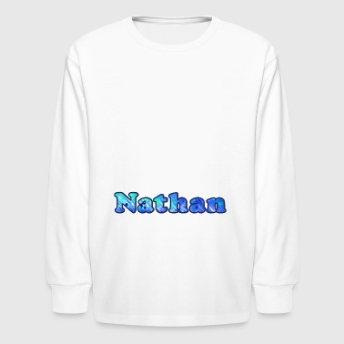 Nathan - Kids' Long Sleeve T-Shirt
