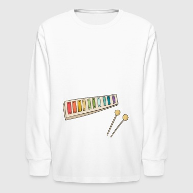 xylophone - Kids' Long Sleeve T-Shirt