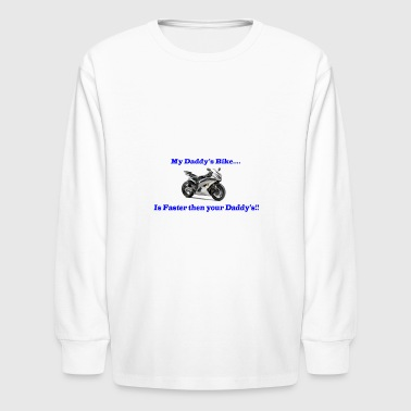 Sport Bike for Kids - Kids' Long Sleeve T-Shirt