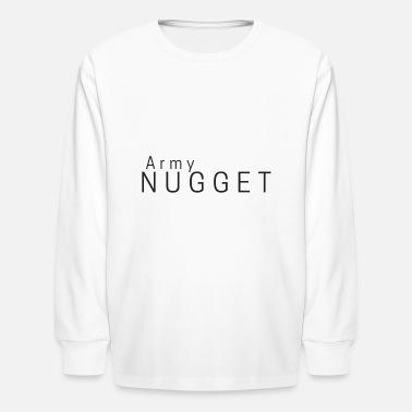 Little Nugget Army Nugget - Kids' Long Sleeve T-Shirt