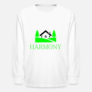 Countryside home in the countryside - Kids' Longsleeve Shirt