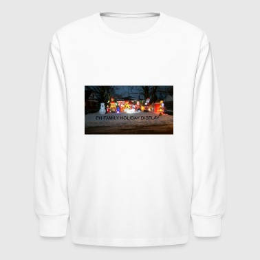 PH FAMILY HOLIDAY DISPLAY - Kids' Long Sleeve T-Shirt