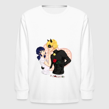 Marichat - Ladybug x Chat Noir - Kids' Long Sleeve T-Shirt