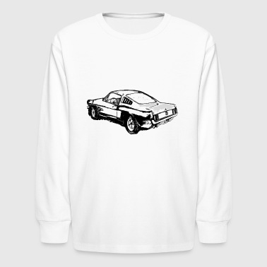 1970 Ford Mustang - Kids' Long Sleeve T-Shirt