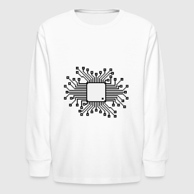The Brain! - Kids' Long Sleeve T-Shirt