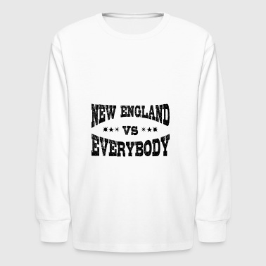 New England Vs Everybody - Kids' Long Sleeve T-Shirt