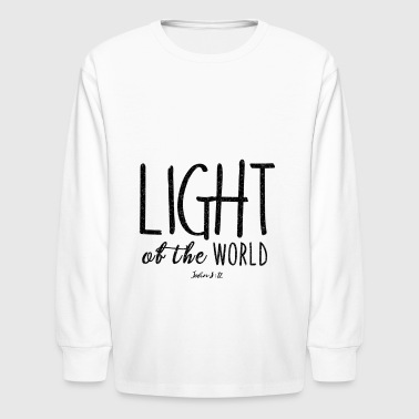 Light Light of the World - Kids' Long Sleeve T-Shirt