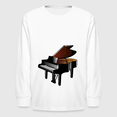 grand piano - Kids' Long Sleeve T-Shirt