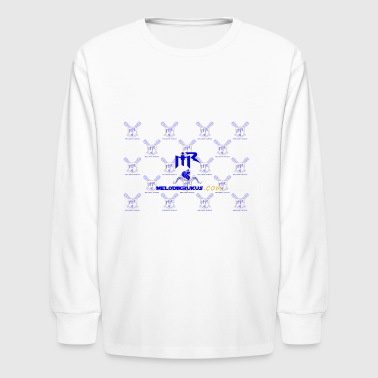 MR checkered - Kids' Long Sleeve T-Shirt