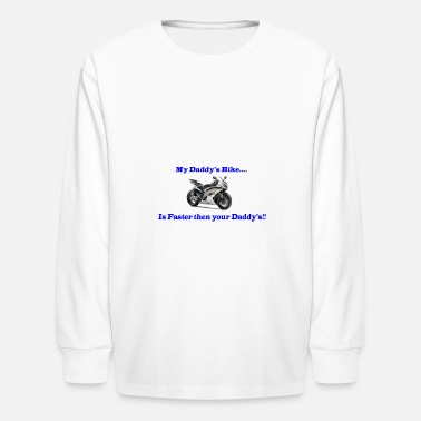 Kids Bike Sport Bike for Kids - Kids' Long Sleeve T-Shirt