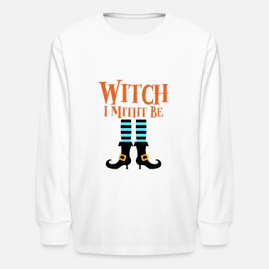 Witch Witch Witches - Kids' Longsleeve Shirt