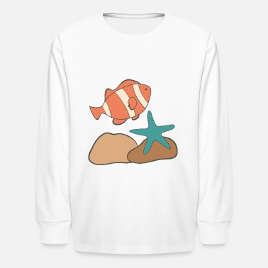 Under Water under water - Kids' Longsleeve Shirt