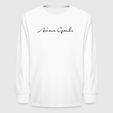 Ariana Grande - Kids' Long Sleeve T-Shirt