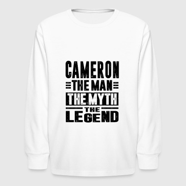 Cameron CAMERON - Kids' Long Sleeve T-Shirt