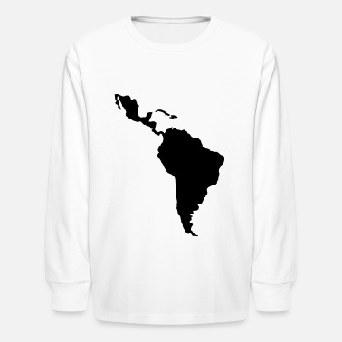 Latin America South Latin america - Kids' Longsleeve Shirt