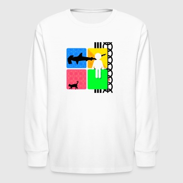 LOGO A - Kids' Long Sleeve T-Shirt