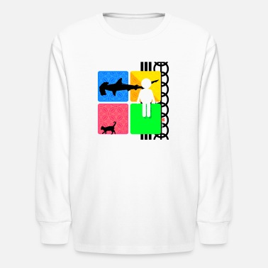 Logo LOGO A - Kids' Long Sleeve T-Shirt