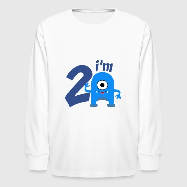 birthday party - Kids' Long Sleeve T-Shirt