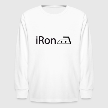 iRon - Kids' Long Sleeve T-Shirt