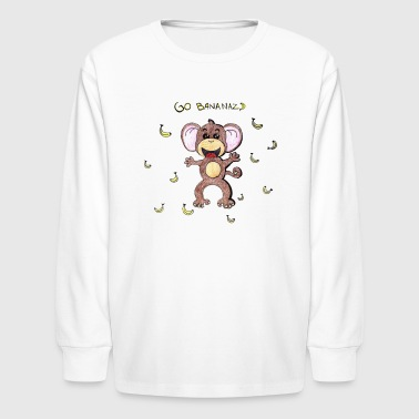 Go Bananas - Kids' Long Sleeve T-Shirt