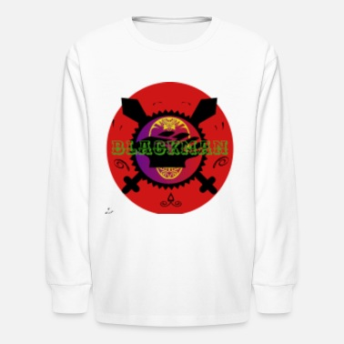 Blackman 2 - Kids' Longsleeve Shirt