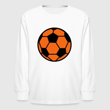 Soccer Ball - Kids' Long Sleeve T-Shirt