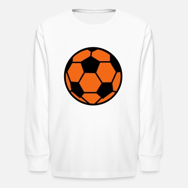 Soccer Ball Soccer Ball - Kids' Long Sleeve T-Shirt